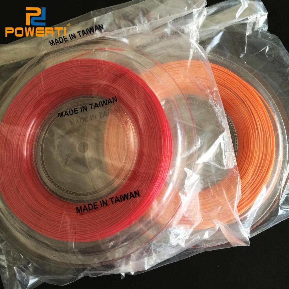 Free Shipping -  Wholesale Polyester Tennis String/String(200m/reel)Tennis Racket/1.25mmTennis Racquet String стоимость