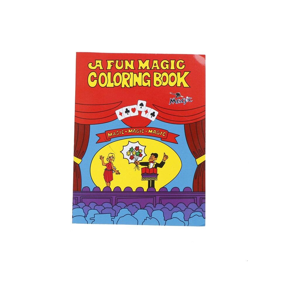 A Fun Magic Coloring Book Comedy Magic Coloring BookS Magic Tricks ...