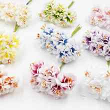 3.5cm high quality 6pcs/lot artificial daisy wreath wedding party decoration DIY scrap flower