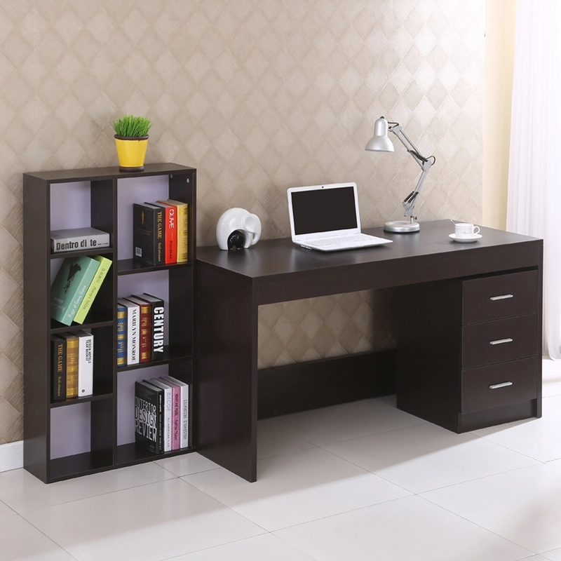 Simple Modern Office Desk Portable Computer Desk Home: Simple Desktop Computer Desk Furniture Home Office Table