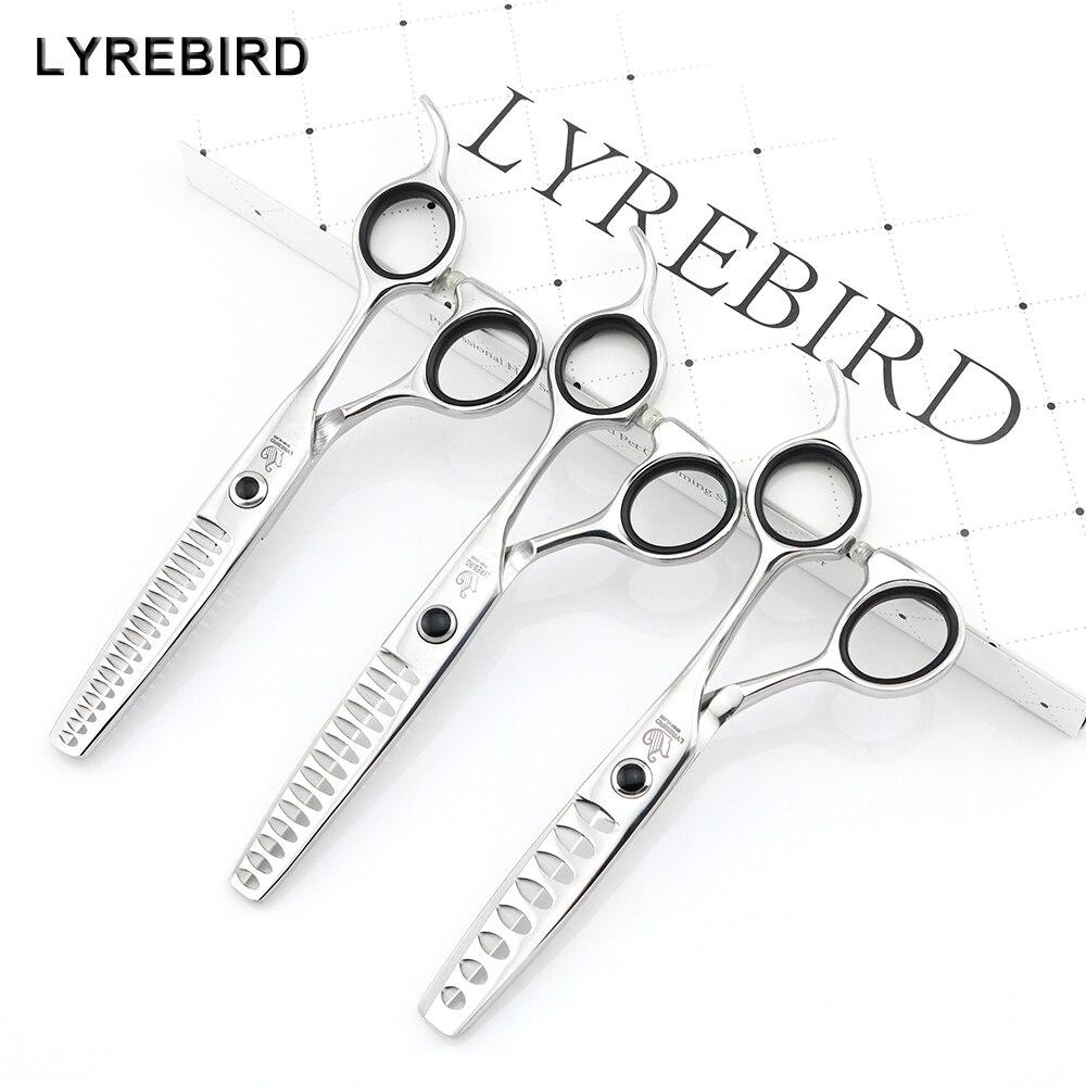 Professional Hair Scissors 440C Japan Thinning Scissors 5.75 INCH 8 Teeth 14 Teeth 18 Teeth Lyrebird HIGH CLASS NEW