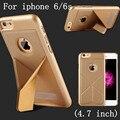 Para el caso de apple iphone 6/6 s 4.7 pulgadas stent deformación anti-golpe modelo popular caso de cáscara de la cubierta