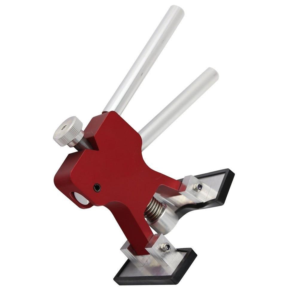 Red Dent Lifter Paintless Dent Repair Strumento per la rimozione di - Set di attrezzi - Fotografia 3