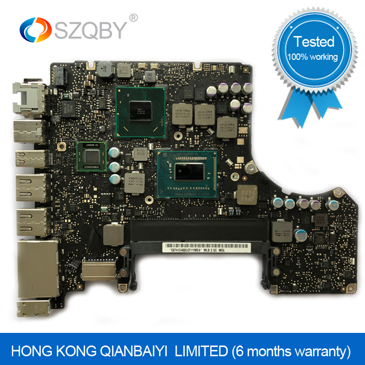 Laptop Motherboard For MacBook Pro A1278 Logic Board 13' MD101 4G i5 2.5GHZ 820-3115-A Mid 2012 цена