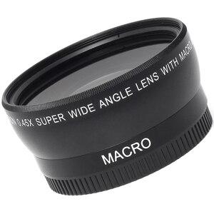 Image 5 - 0.45x52mm 52 Fisheye Grandangolare Macro di Conversione Grandangolare Lens Bag 62mm Cap per Nikon D5000 D5100 D3100 D7000 D3200 D90 1 pz