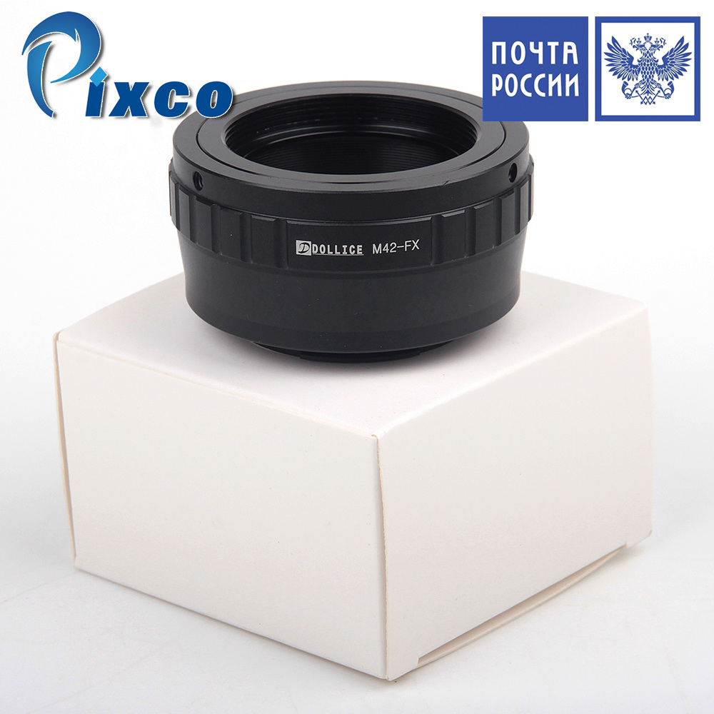 Ship From Russia Dollice dollar price Lens Adapter Suit For m42 Screw Mount to fujifilm X Camera X-T1 X-A1 X-E2 X-M1 X-E1