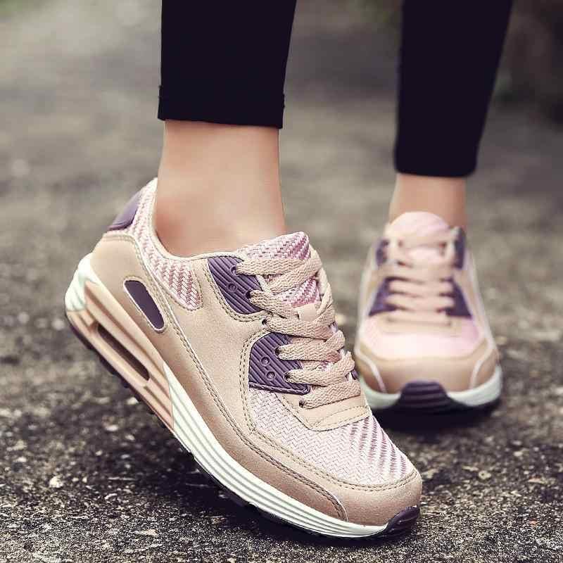 5a0edf5d026a 2018 модная Корейская женская обувь 2018 дышащая женская повседневная обувь  весенние замшевые розовые сникерсы женская обувь