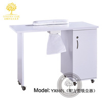Special high-end salon manicure table. Nail table. Manicure sets of single, double, three nail a nail table