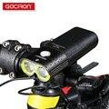 GACIRON Professionele 1600 Lumen Fiets Licht Power Bank Waterdichte USB Oplaadbare Fiets Licht Zaklamp