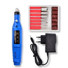 Electric Nail Drill Machine Nail Pen Shape Pedicure
