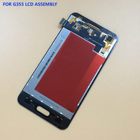 For Samsung Galaxy Core 2 G355 G355H G355M Black White Touch Screen Digitizer Panel Glass LCD