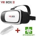 Google caliente caja de cartón vr vr ii 2.0 versión virtual realidad Gafas 3D Para 3.5-6.0 pulgadas Smartphone + Bluetooth Controlador 1.0