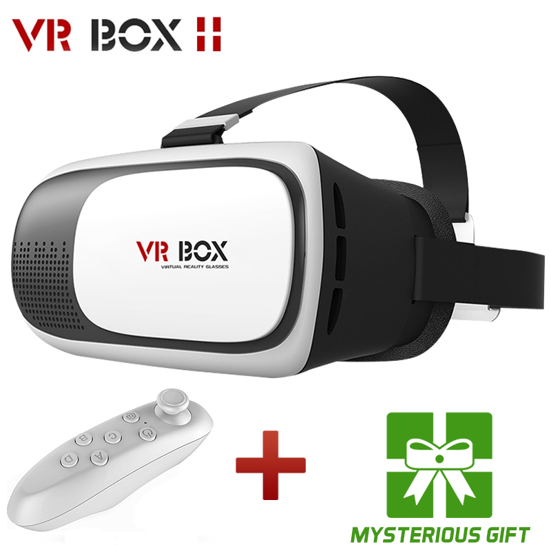 HOT Google cardboard VR BOX II 2.0 Version Virtual Reality 3D Glasses 3.5 - 6.0 inch Smartphone+Bluetooth Controller 1.0 shenzhen Lewinner Store store