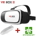 Hot google caixa de papelão vr ii versão 2.0 vr virtuais realidade Óculos 3D Para 3.5-6.0 polegada Smartphone + Controlador Do Bluetooth 1.0