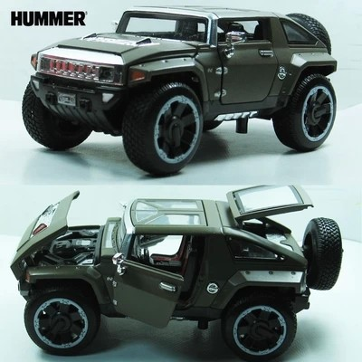 Hummer Models List >> 1 32 Hx Hummer Pull Back Alloy Car Model Car Toy Off Road Military