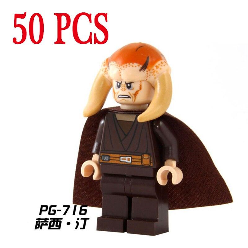 Pogo Gifts Star Wars Space Wars Wholesale 50PCS PG716 Marvel Super Heroes Building Blocks Bricks Toys Compatible with Legoe