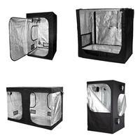 Premium Grow Tent Silver Mylar Indoor Bud Box Hydroponics Dark Room Sizes