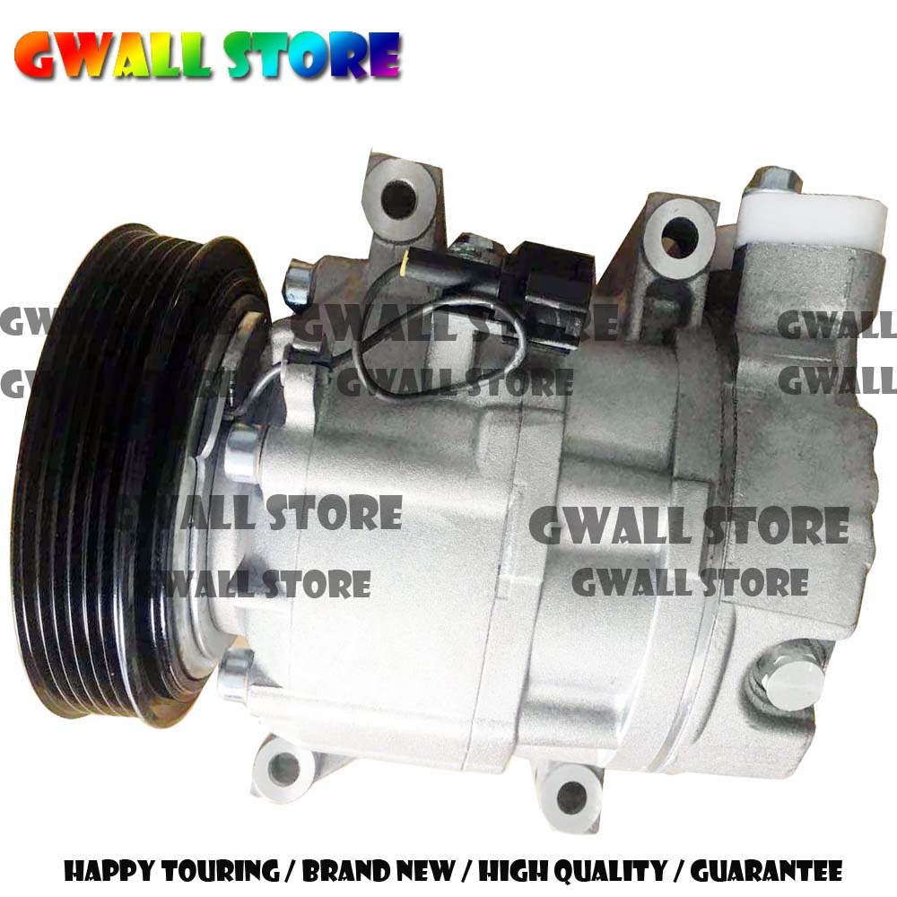 Auto A/C Compressor for Nissan X-Trail 2.0/Nissan 2.5/Nissan Primera 2.0 G.W.- CWV615M -6PK-129