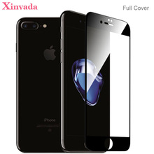 Xinyada Full Cover Tempered Glass For iPhone 8 X 7 Plus 6 6S iPhone8 Plus Screen protector Guard Lcd Protection Film Coverage