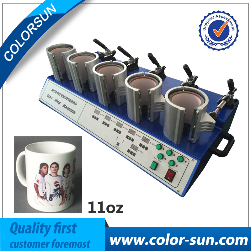 High-Efficiency 5 In 1 Mug/Cup Printing Machine,Manual Mug Press Machine,Heat Press/ Sublimation Mug Machine pierre hardy полусапоги и высокие ботинки