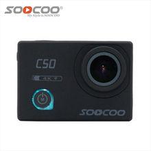 SOOCOO C50 Sports Action Camera Wifi 4K camera NTK96660 Gyro Adjustable Viewing angles 30M Waterproof Sport DV