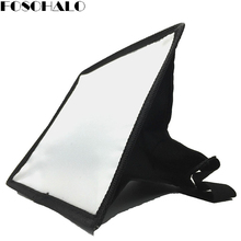 FOSOHALO Universal Flash Diffuser Softbox 15x17cm For Camera Speedlight for Nikon SB900/SB800 for Canon 580EXII/430EXII