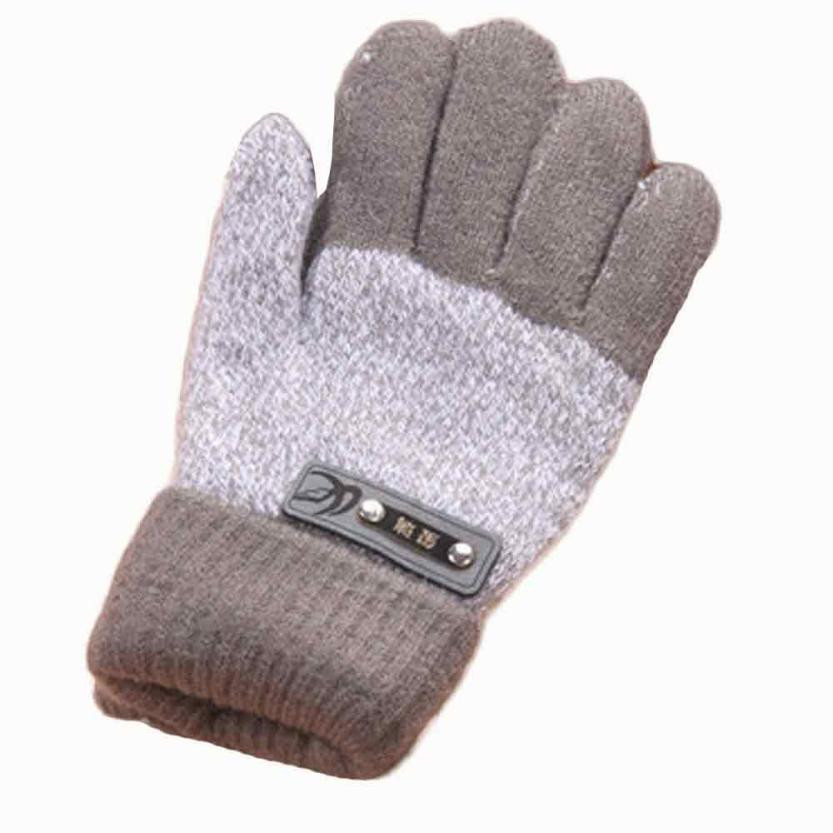 1Pair kids Boys Gloves Cute Thicken Hot Infant Baby Girls Boys Of Winter Warm Gloves Suitable for children aged 2 to 7 years doubchow adults womens mens teenages kids boys girls cartoon animal hats cute brown bear plush winter warm cap with paws gloves page 7