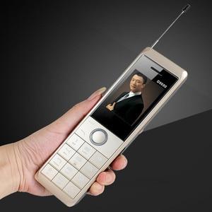 Image 2 - حقيقي 8700mAh قوة البنك سوبر كبير الهاتف المحمول الفاخرة الرجعية الهاتف بصوت عال المزدوج سيم الاستعداد هاتف محمول y H موبايل D9000