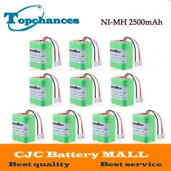 7.2 Volts Nova 2.5Ah 2500 mah Ni-MH 7.2 v Recarregável Bateria para iRobot Roomba Braava 380 380 t de Alta Qualidade