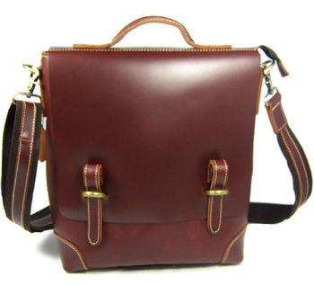 Luxury Italian Genuine Leather Men's Briefcase Business bag men briefcase laptop Shoulder Bag male Messenger - discount item  38% OFF Briefcases