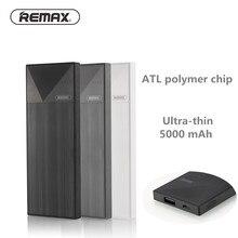 Remax 5000 мАч Мощность Bank внешняя Батарея Зарядное устройство Портативный Батарея мобильного телефона Мощность банка для iPhone 5 6 6S 7 плюс повербанк