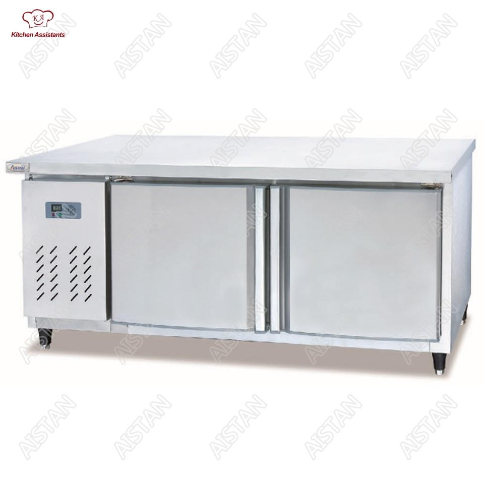 все цены на TW1500/1800 Stainless steel commercial Chiller/Freezer/Refrigerator Refrigered&Freezer Work Table онлайн