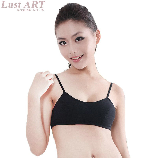 New arrival fashion child bra for kids teenager kids bra solid bra for children AA045