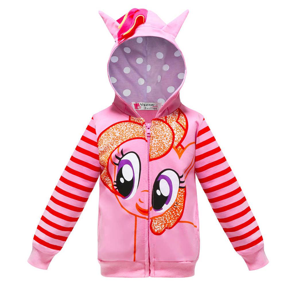 אביב ילדים בנות מעיל קשת מעיל חדש ילדים בנות קשת מעיל unicorn ילדי בני תינוק ברדס מעיל ילדים בגדים