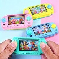 Juguetes de habilidad para cultivar el pensamiento de Chico  máquina de juegos portátil con anillo de agua  juegos interactivos de Color aleatorio para padres e hijos