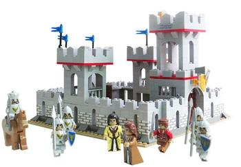 2018 New 686Pcs Middle Ages City Princess Knights Castle Soldier Model Figures Building Blocks Bricks Gifts Toys For Children