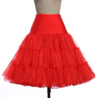 Women S 50s Vintage Rockabilly Petticoat Tutu Skirt 7 Colors Free Shipping Crinoline Underskirt Short Black