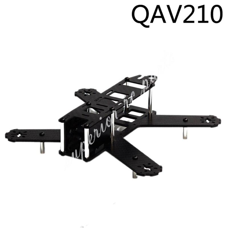 3K Carbon Fiber QAV180 Frame Kit V2 Mini FPV Drone Racing Quadcopter Fuselage