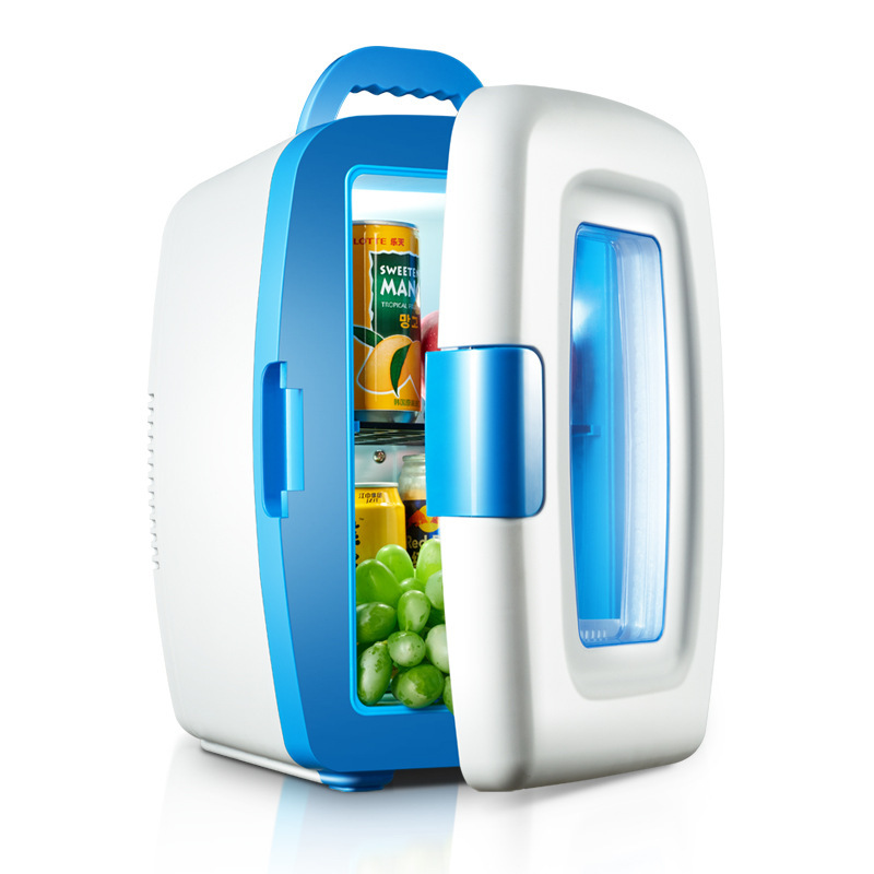 Mini Fridges Portable Fridge Heladera 10L On-board Refrigerator, Home Two-use Mini Refrigerator, Household Freezer, Cold Heate