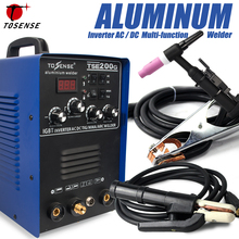 IGBT TIG/ MMA Welder TSE200G AC/ DC Square-wave Inverter 200A 4 Welding Method Machine For Aluminum, Stainless Steel, etc