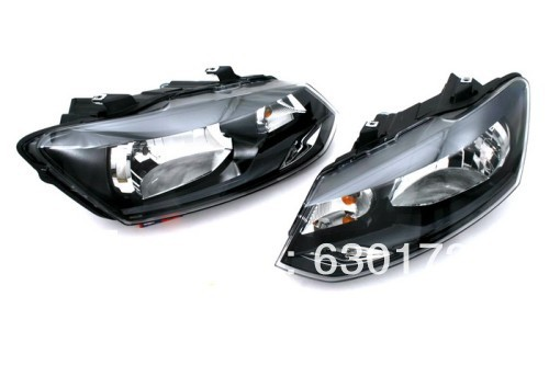 Headlight For VW Volkswagen Polo 6R gti smoke headlight for vw volkswagen polo 9n3