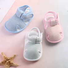 Cute Cotton Baby Shoes Non-slip Summer Toddler Learn to Walk