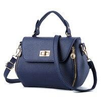 Women Messenger Bags Luxury Handbags Famous Designer  Women Bag Casual Tote Designer High Quality 2017 NEW Interior Slot Pocket Top-Handle Bags