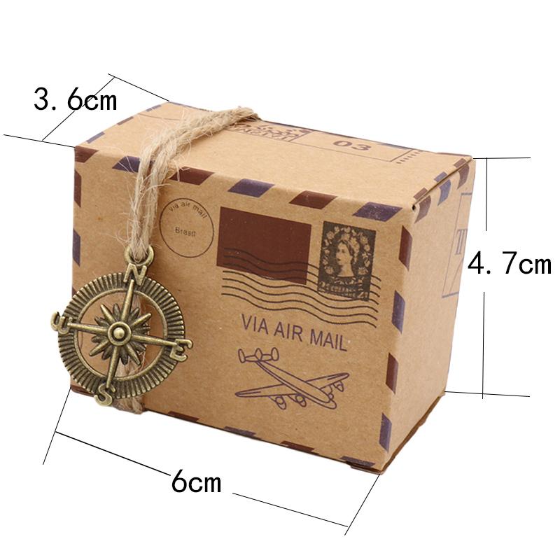 Pudełka na prezenty dla podróżników rozmiar