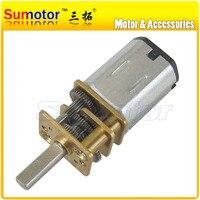 12GA DC 12V Mini Electric Reduction Metal Gear Motor For RC Car Robot Model DIY Engine