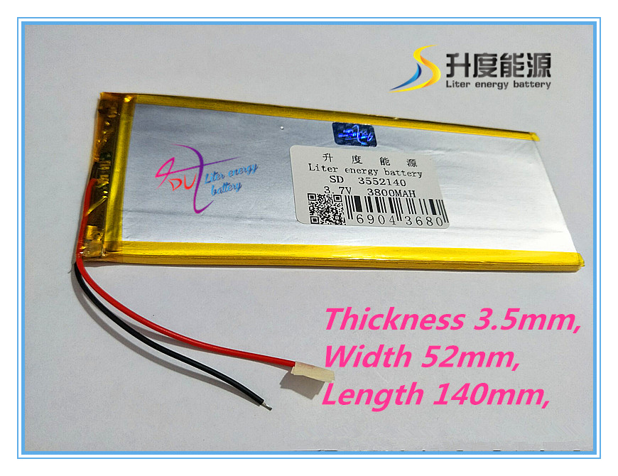 best battery brand New 3.7 V lithium Tablet polymer battery rechargeable battery 3552140 pl 3800 mah tablets best battery brand 508176 high capacity lithium polymer battery 3800 mah battery mobile power