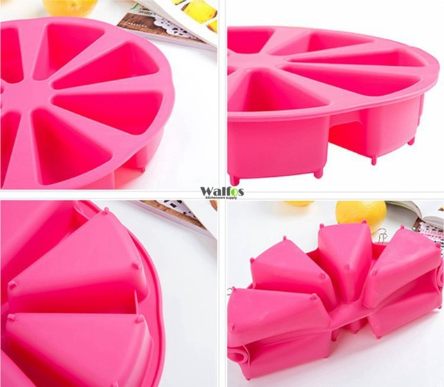 Round Muffin Cases – Silicone Cupcake Liner Baking Mold Cakes Bakeware Maker Kicthen Cooking Gadget Tools