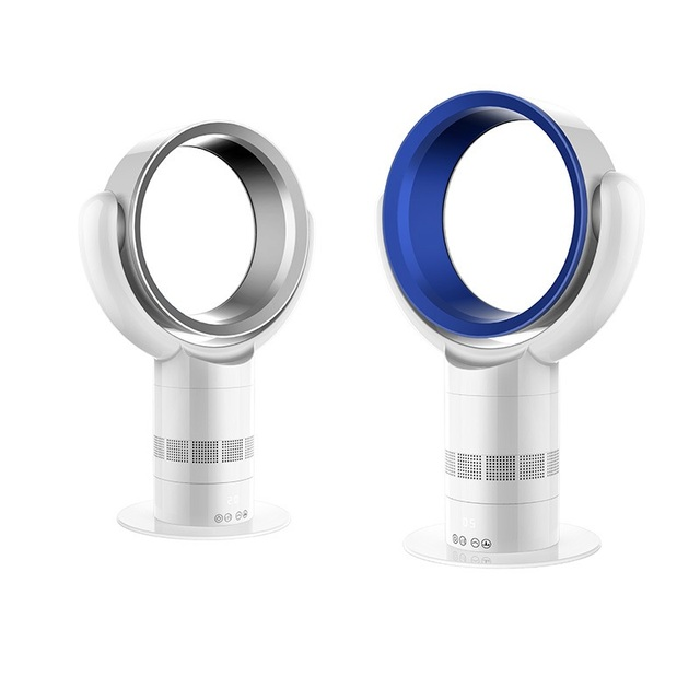 DMWD Ultra Ruhigen Blattlose Ventilator 220 V Lüfter Fernbedienung Turm Fan  360 Grad Luft Zirkulation