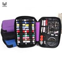 Luluhut chất lượng Cao xách tay đi du lịch bộ dụng cụ may túi bên trong với chủ đề kim cắt kéo pin ngoài trời may thiết lập gia đình