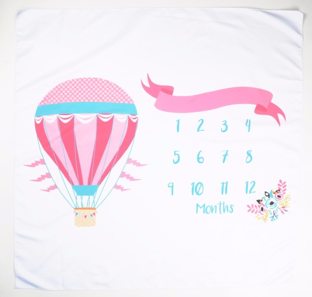 Infant Baby Milestone Blanket